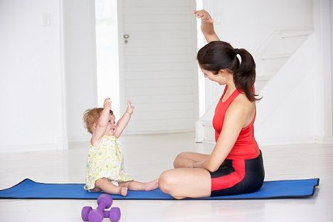 Mom Exercise Yoga Baby Mat