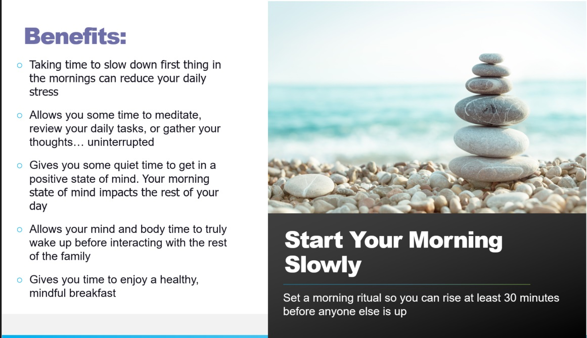 start your morning slow1